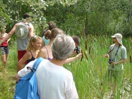 IAD GS Harald Kutzenberger presented wetlands on Donauinsel